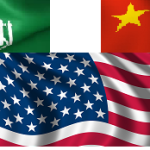 us china saudi flags