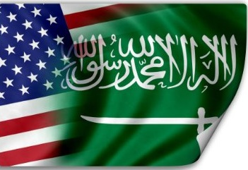 us-Saudi Flags